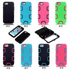 3 in 1 Hybrid PC Silicone Shock Dirt Proof  Back Case Cover Skin For iPhone 6