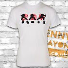 HADOUKEN CONTROLS STREET FIGHTER T-SHIRT - GAMING - WHITE GILDAN S/STY - RETRO