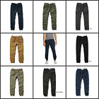 ABERCROMBIE & FITCH MEN`S JOGGER CHINOS Pants Trousers NEW SIZES XS, S, M, L, XL