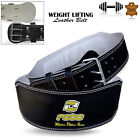 "Weight Lifting Belt Gym Fitness 4"" Wide Leather Back Support Training Workout"