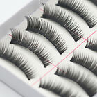10 Pairs New Arrival Makeup Natural Thick False Eyelashes Eye Lashes Extension