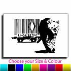 Barcode Leopard Banksy Single Canvas Wall Art Picture Print