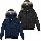 Brave Soul MJK-Siberia Mens Padded Coat Detachable Hood SALE Item Was £69.99