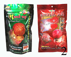 OKIKO High Quality Flowerhorn and Cichild Fish Food 2x100g. Pellet Size L