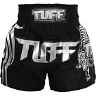 Tuff Muay Thai Boxing Black Shorts 204 Kick Boxing Training Free Shipping