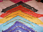 triangular belly dancing 2 or 3 row coin belt gypsy boho