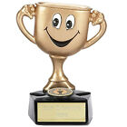 Cup Man. Humorous trophy, Fun award for any Presentation. Free engraving