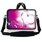 "17.3"" 17.4 LAPTOP NOTEBOOK SLEEVE BAG CASE POUCH W HANDLE& SHOULDER STRAP 16 17"