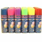 New 12 / 24 / 48 / 96 Party Crazy String Streamer Spray Cans- Weddings Parties