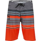 Volcom Lido Saber 21in Mens Shorts Boardshorts - Why Rock Red All Sizes