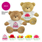 Personalised Name Mothers Day 2019 Edward Teddy Bear Presents Gifts for Mum Nan