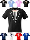 Tuxedo T Shirt England Flag Football Rugby Cricket Stag Hen Fancy Dress Casino