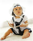 New baby GIRL Sailor dress type Romper 2077 with hat
