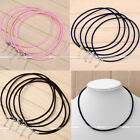 5Pc 3mm Cord Rope Thread Clasp Necklace Jewelry Beads Makings Findings Craft DIY