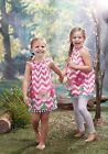 Mud Pie Forest Friends Smocked Flower Dress Girls 12M to 5T #1142149 NWT