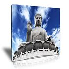 RELIGION Buddhism Canvas Framed Printed Wall Art 24 ~ More size