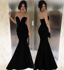 PLUS SIZE Sexy MasqueradeGown Mermaid Prom Dress Evening Long Cocktail Dresses