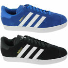 Mens Adidas GAZELLE 2 Classic Sport Trainers Leather Shoes Suede Leather Comfort
