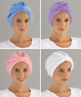 Collections Etc Perfect Fit Terrycloth Turban