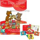 Emotion Bear Cards Feeling 48 Laminated Set Emotional Development Life Skills