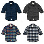 ABERCROMBIE & FITCH MEN`S by Hollister FLANNEL SHIRTS PHELPS TRAIL NEW ALL SIZES