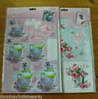 A4 - Henbury Lane - Die Cut Decoupage Pack - Birthday - Lady's - Mothers Day