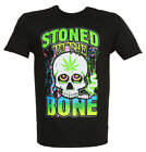 STONED to the BONE Men's T Shirt, Black