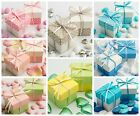 Luxury DIY Two Tone Box & Lids Pastels Baby Shower Christening Favour Boxes