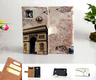 Luxury Wallet Flip wallet card leather case f SamSung Iphone Nokia SONY LG / KS08