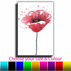 Abstract Flower Single Canvas Wall Art Picture Print 5O