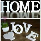 White Wooden Letters Love Bridal Party Home Shop Name Decorations Wedding Favour
