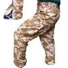 BRITISH ARMY DESERT SAS TROUSERS WINDPROOF PARA HIKING FISHING PAINTBALLING