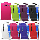 Leather Flip Case Cover Pouch For Motorola Moto Various Phone Models With Stylus