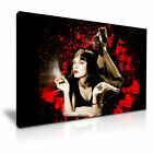 Pulp Fiction Mia Wallace Canvas American Movie Modern Wall Art Home Deco 9 sizes