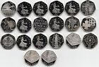 UK Fifty Pence Coins 50p 2000 to 2020 Choose your Year - PROOF