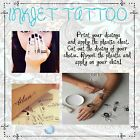 1 sheet set Temporary Tattoo Body Art Decal Paper Printer :)