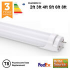 LED T8 T12 FLUORESCENT TUBE REPLACEMENT 2ft 3ft 4ft 5ft 6ft 18w 30w 36w 58w 70w