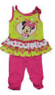 NWT GENUINE DISNEY MINNIE MOUSE toddler 2 piece TUNIC  LEGGINS pink FREE SHIP