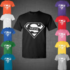 Mother's day present Super MOM superman logo Funny t shirt tank top