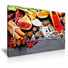 FOOD & DRINK Spice Pepper Canvas Framed Printed Wall Art 53 ~ More Size