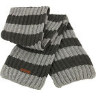 Mens Result Winter Warm Chunky Knit Stripe Scarf