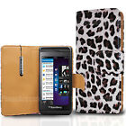 Floral Flower Wallet Leather Case Cover For Blackberry Various Phone Models