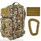 TACTICAL 28 LITRE RUCKSACK PATROL PACK PATCH CARABINA MOLLE BAG BRITISH ARMY