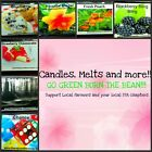fruit, baked,holiday scents,soy wax clamshell break away tart melts homemade
