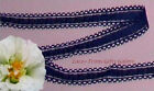 """6 Yards Lace Trim Navy Insertion 9/16"""" Galloon J35V Added Items Ship No Charge"""