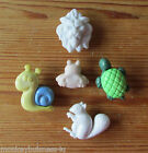 Novelty Buttons - Animals #2 - Baby & Kid's - Knitting/Sewing/Clothes/Cards
