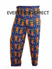 Mr Potato Head Hot Potato Men's Cotton PJ Pyjama Bottoms Lounge Pants Blue S-XXL