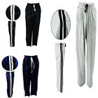 Mens Fleece Jogging Bottoms Joggers Casual Trousers Open Hem Waistband S-XL