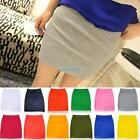 Fashion Women's Sexy Mini Skirt Slim Seamless Stretch Tight Short Fitted Skirt