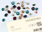 Genuine SWAROVSKI 4470 Square Cushion Cut Stones Crystals * Many Colors & Sizes